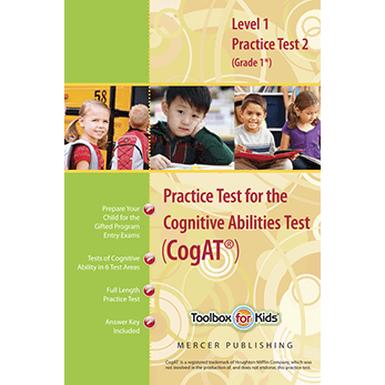 CogAT Grade 1 Form 6 Practice Test 2 eBook