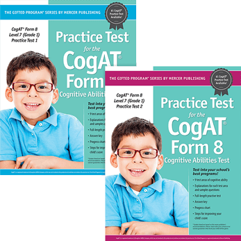 Cogat Form 8 Level 7 Grade 1 Practice Tests 1 and 2