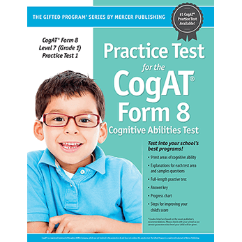 Cogat Form 8 Level 7 Grade 1 Practice Test 1