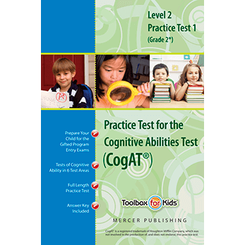 Cogat grade 2 form 6 Practice Test 1 eBook