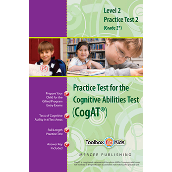 Cogat grade 2 form 6 Practice Test 2 eBook