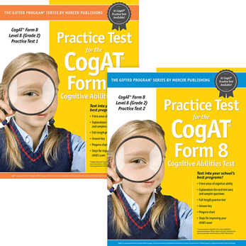 Cogat Form 8 Level 8 Grade 2 Practice Tests 1 and 2