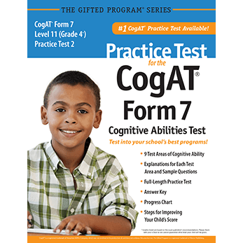 Cogat Grade 4 level 11 form 7 Practice Test 2