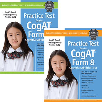 Cogat Form 8 Level 11 Grade 4 Practice Tests 1 and 2