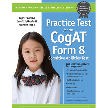 Cogat Form 8 Level 11 Grade 4 Practice Test 1