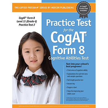 Cogat Form 8 Level 11 Grade 4 Practice Test 2