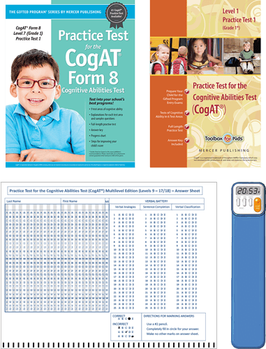 CogAT Grade 1 Essentials Study Package
