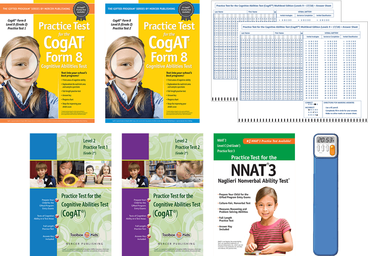 CogAT Grade 2 Primary Total Study Package