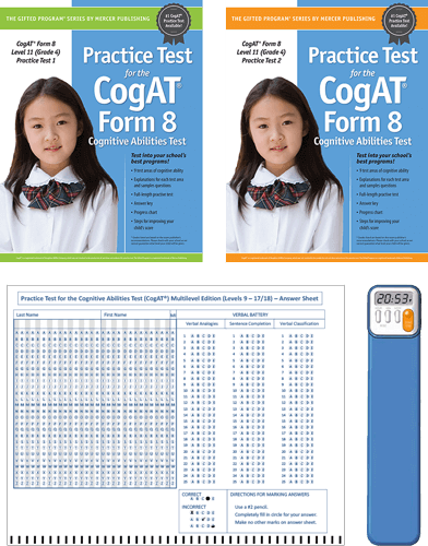 CogAT Grade 4 (Level 11) Form 8 Study Package