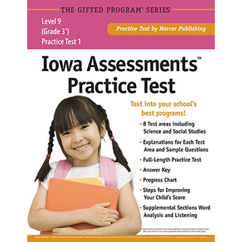 Iowa Assessments Grade 3 Level 9 Practice Test