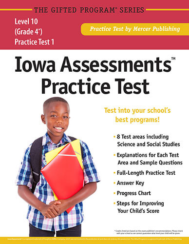 Iowa Assessments Grade 4 Practice Test