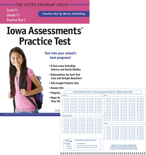 Iowa Assessments Grade 5 Study Package