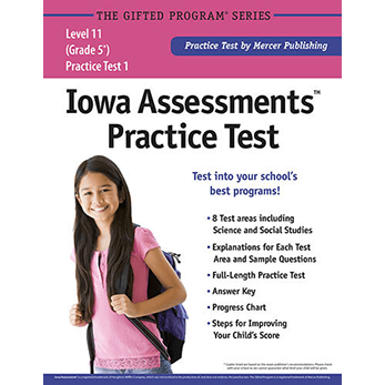 Iowa Assessments Grade 5 Level 11 Practice Test