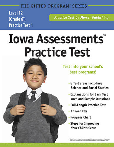Iowa Assessments Grade 6 Practice Test