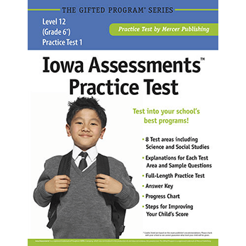 Iowa Assessments Grade 6 Level 12 Practice Test