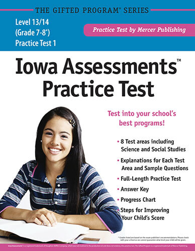 Iowa Assessments Grades 7-8 Practice Test eBook