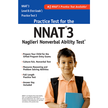 NNAT3 Grade 1 Level B Practice Test 3