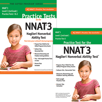 NNAT3 Grade 2 Level C Test 1, 2, and 3 Practice Test