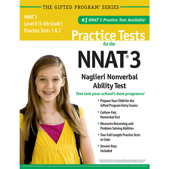 NNAT3 Grade 5/6 Level E Test 1 and 2 Practice Test
