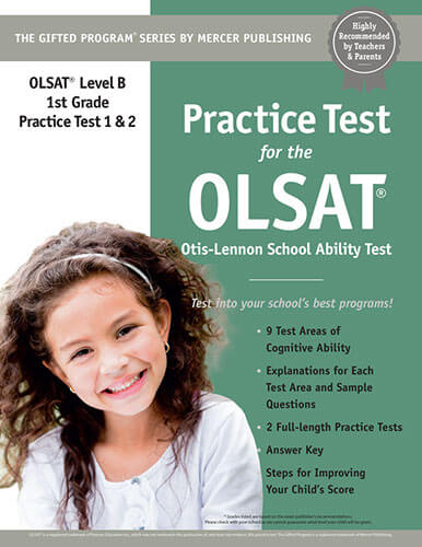 OLSAT Grade 1 Practice Test eBook
