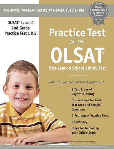 OLSAT Grade 2 Practice Test eBook
