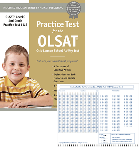 OLSAT Grade 2 Study Package