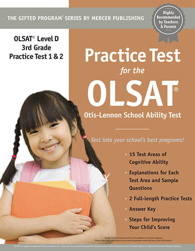OLSAT Grade 3 Practice Test eBook