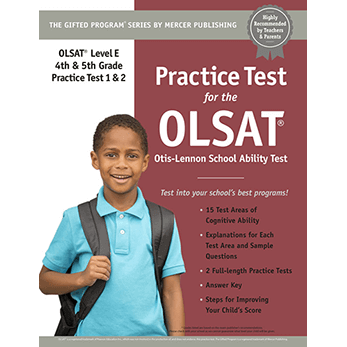 OLSAT Grades 4-5 Level E Practice Test