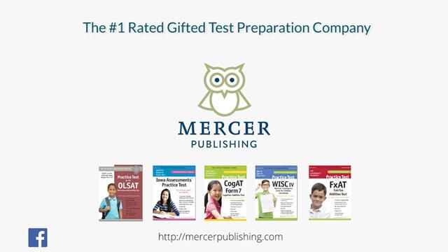 Mercer publishing test prep materials for the gifted program mercer publishing fandeluxe Gallery